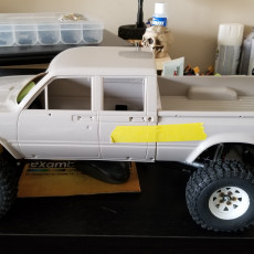 Picture of print of RC4WD Trailfinder 2 Mojave LWB Chassis Body Mount
