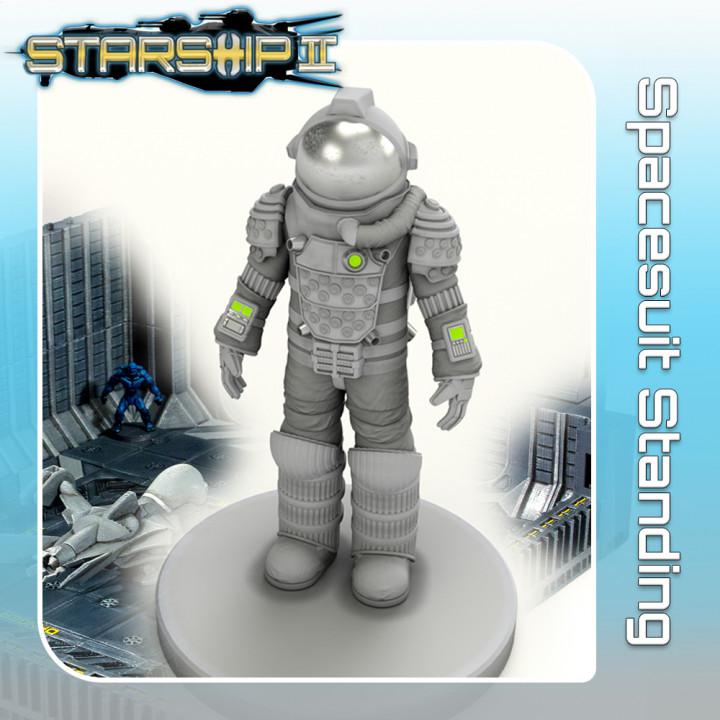 Spacesuit, Standing