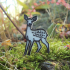 Small deer brooch image