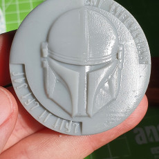 Picture of print of The Mandalorian Coin