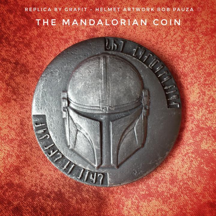The Mandalorian Coin