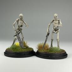 Picture of print of Undead Skeleton Swordsmen - Tabletop Miniature