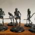 Skeleton Mob - D&D Miniature image