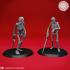 Undead Skeleton Swordsmen - Tabletop Miniature image