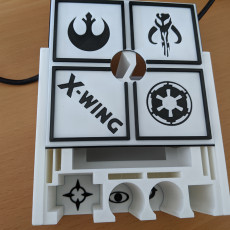Picture of print of Xwing Miniature Ultimate Token Holder