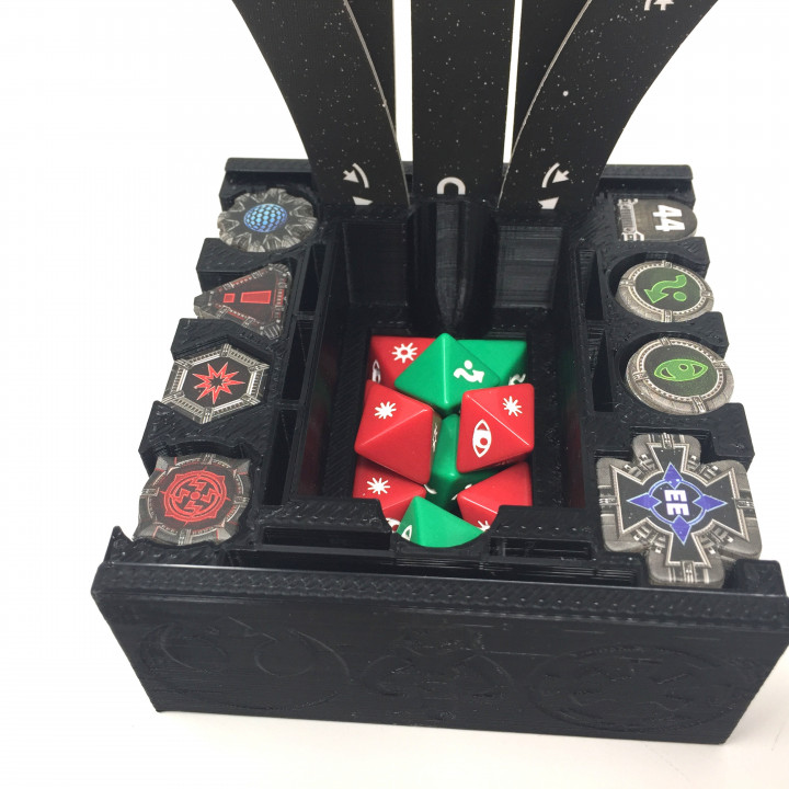 Xwing Miniature Ultimate Token Holder