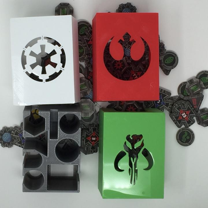 X-Wing Miniatures Token Box Organizer