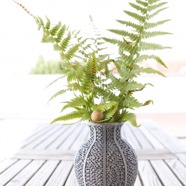 Gyroid Vase inspired by Matt´s Hub