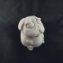 DoggyPop Pug Idol statue image