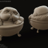 Playful Pug - Pug in the Bath miniature image