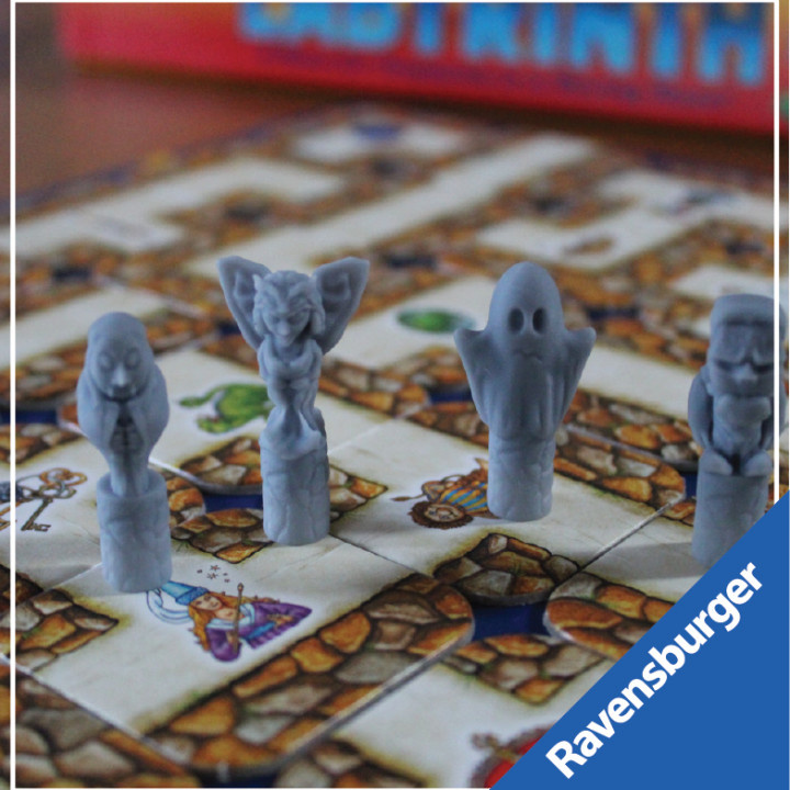 Ravensburger's Labyrinth: Creatures of the night