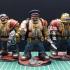 Ogryn squad - Sci Fi wargame figures image