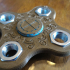 Steampunk fidget spinner image