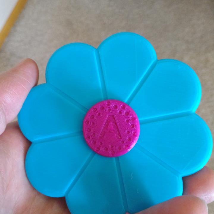 Flower Fidget Spinner