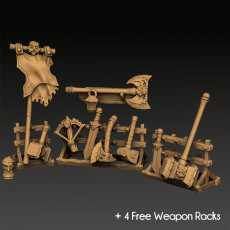Weapons for Loot & Racks: Dwarven Defender Set