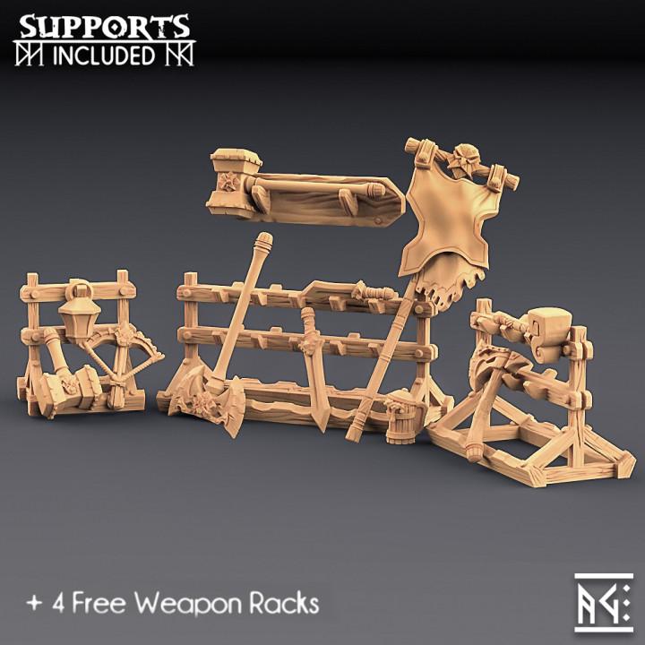 Weapons for Loot & Racks: Dwarven Defender Set