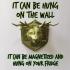 WILD BEER fridge magnet or wall mount image