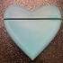Card holder heart shaped image