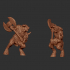 Minotaur With Different Weapons image