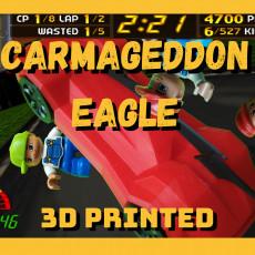 Carmageddon Eagle MK1 - remix with spinning wheels
