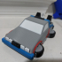 Flying DeLorean Multimaterial 2 image