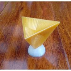 String tetrahedron