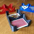 Wavy Card Tray - Dual Deck Playing Card Holder image
