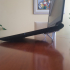 Integrated laptop riser/stand image