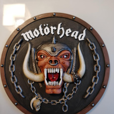 Picture of print of Snaggletooth Motorhead