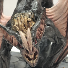 Picture of print of Drakenmir on Bloodhunter - Soulless/Vampire Hero on Dire Bat