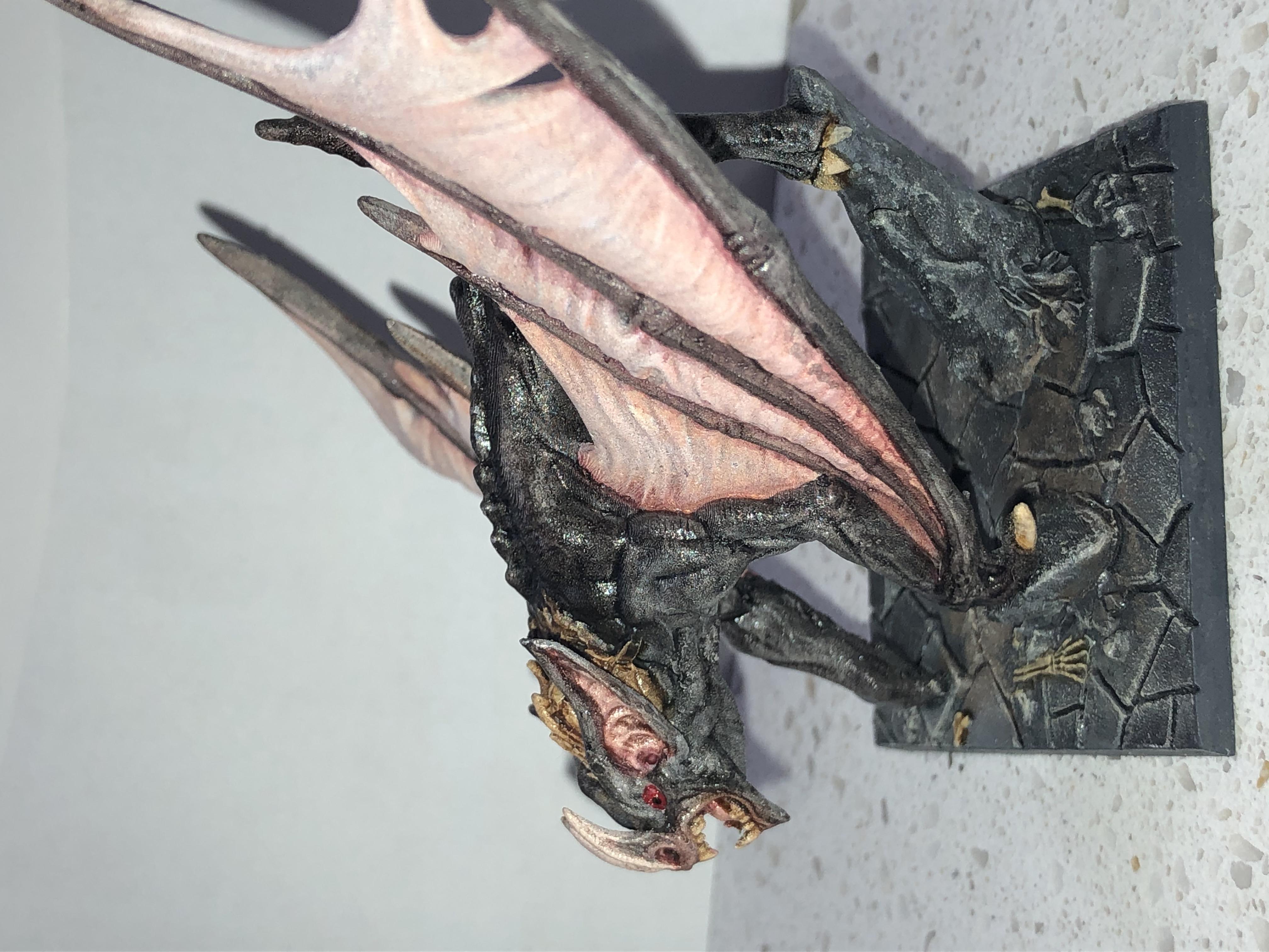 Drakenmir Em Bloodhunter Dire Bat Sem Alma Vampiros de Artisan Guild