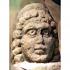 3rd Century AD Roman stone head at Lancaster Museum image