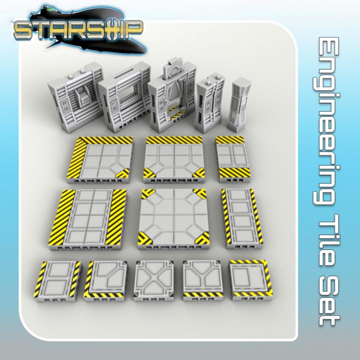 Engineering Tile Set