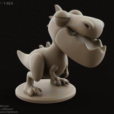 Dinopop - T-rex miniature dinosaur