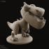 Dinopop - T-rex miniature dinosaur image