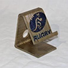 Australia rugby phone stand