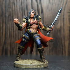 Picture of print of Soulless Bloodseeker - C Modular Unit (Lady)