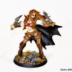 Picture of print of Soulless Bloodseeker - D Modular Unit (Lady)