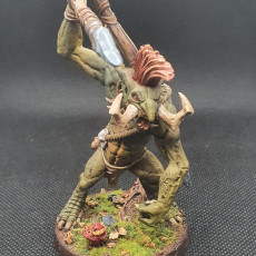 Picture of print of Rumpu - the Drummer Troll