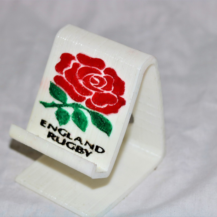 England rugby phonestand