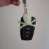 jolly roger skull key chain image