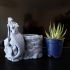 Mermaid Flowerpot image