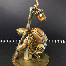Picture of print of Turtle Traveller - NPC Character - 2 Poses