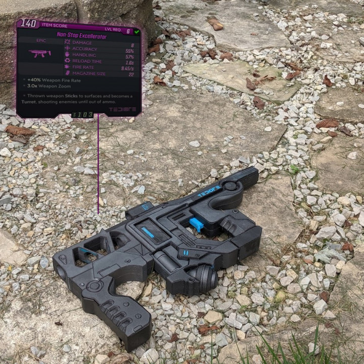 Borderlands 3 Tediore Sub Machine Gun
