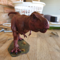 Picture of print of Tyrannosaurus Rex statue This print has been uploaded by William Jordaan