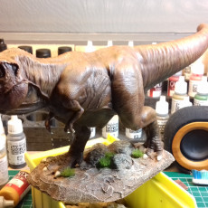 Picture of print of Tyrannosaurus Rex statue This print has been uploaded by Heronimus