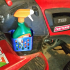 Weed Spray Bottle Caddy for Craftsman Riding Mower image