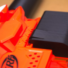 NERF Front grip with Sipik SK-68 holder