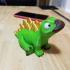 Stegosaurus Multimaterial print image