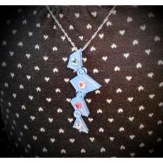 Triangle to square pendant